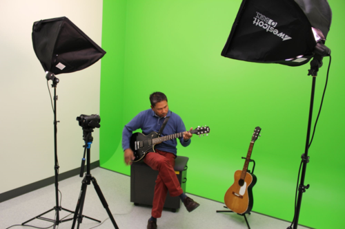 Digital Innovation Hub Green Screen