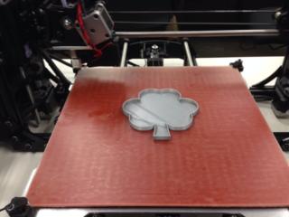 3D Printed Shamrock